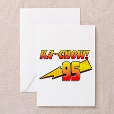 Lightning Mcqueen Greeting Cards