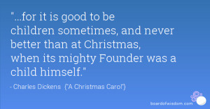 Continue reading these Charles Dickens Christmas Quotes