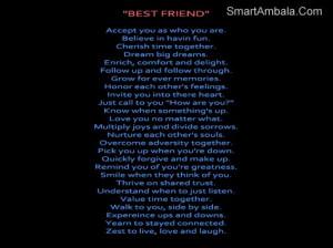 Best Friend Accept You As