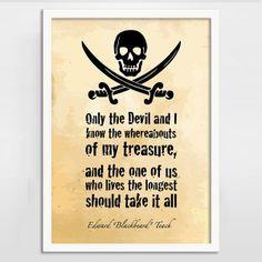 ... pirate quote print black sails more pirate treasure pirate quotes