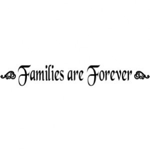 Families Are Forever Credited