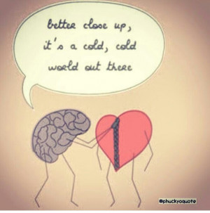 Heart And Brain Quotes