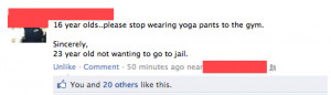 http://www.graphics99.com/yoga-pants-at-the-gym-funny-quote-picture/