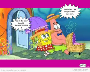 Spongebob and Patrick Getting to Freaky!