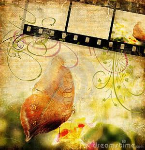 Stock Illustration: Retro butterfly. Image: 3791141