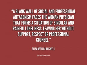 elizabeth blackwell famous quotes
