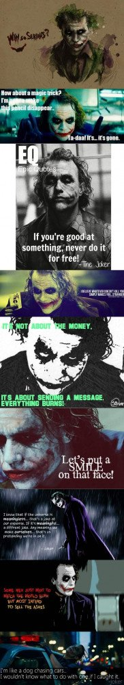 Batman dark knight, Best Joker quotes...click on the pin and it well ...