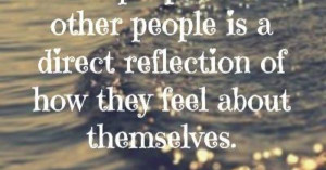 how you treat others