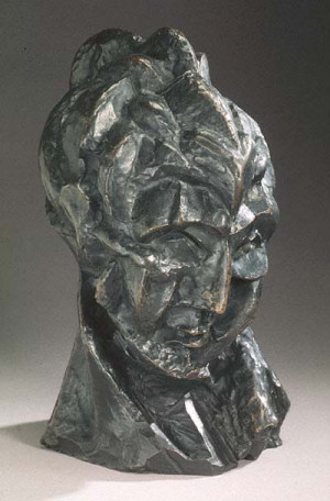 Woman's Head (Fernande), 1909 by Pablo Picasso