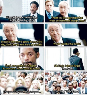 the pursuit of happyness. ♡