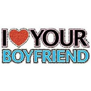Luv Your Boyfriend - Sayings and Quote T Shirts & Apparel - trendy ...