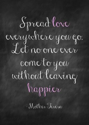 Mother Teresa Quotes About Love