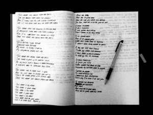 writing lyrics help