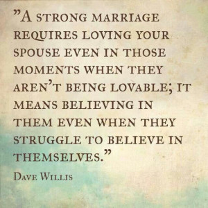 strong marriage.
