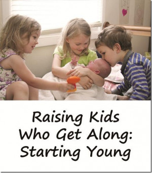 Raising Kids Who Get Along: Bringing Home a Younger Sibling
