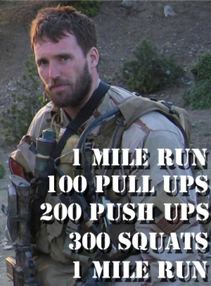 Today we honor Lt. Michael Murphy, Navy SEAL, who was posthumously ...