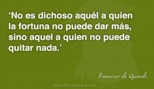 Frases de fortuna de Francisco de Quevedo
