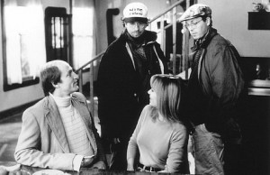 ... , Vanessa Angel, Bobby Farrelly and Peter Farrelly in Kingpin (1996