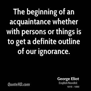 George Eliot Quotes