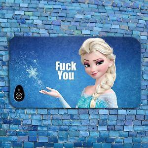 Disney-Frozen-Elsa-Cute-Phone-Case-Funny-Quote-Cover-iPhone-4-4s-5-5s ...