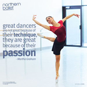 Great dancers are not great because of their technique, they are great ...