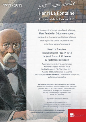 Henri La Fontaine 39 s Quotes