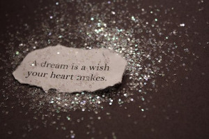 black and white, dream, glitter, quotes, sayings, silver, sparkles ...