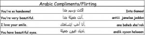 Arabic Compliments and Flirting