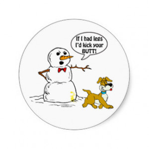 Funny Snowman Sayings Gifts