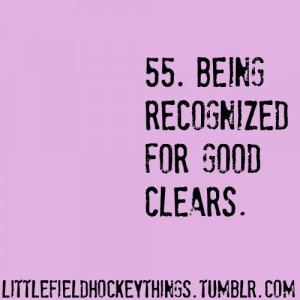 Field Hockey Quotes and Sayings