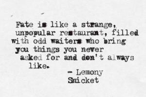 Lemony Snicket. Goof