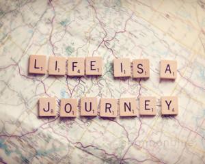 travel photography / journey, map, wanderlust, adventure, scrabble ...