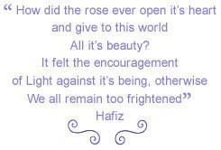 Hafiz Love Quote Quotes