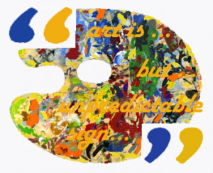 ... life artists describe and explain their modern art creation in quotes