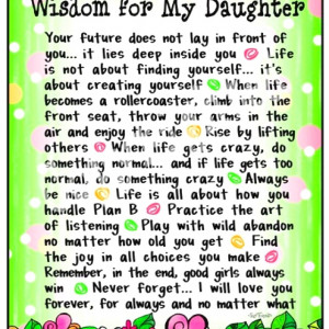 For my daughter!! You are the best thing that happened to me! Ily ...