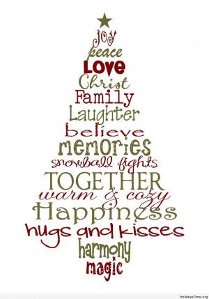 Magic Christmas tree quote