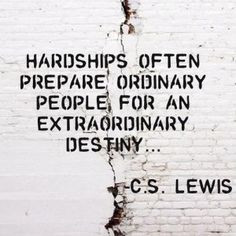 Recovery Quotes and Sayings | Hardships often prepare ordinary people ...