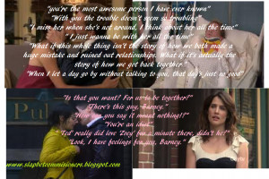 Barney & Robin Wonderful BR quotes