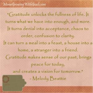Motivational Quotes for Moms – Gratitude….