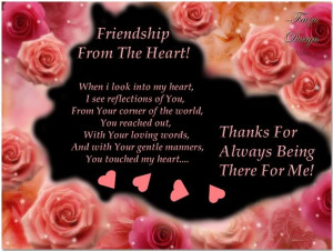 Thank You for Being There for Me Friend Quotes