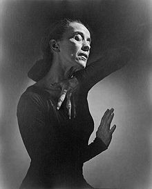 Dance Quote by Martha Graham, dancer and choreographer