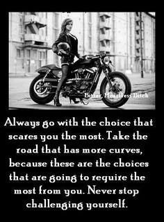 challenge yourself believe in yourself more harley davidson the roads ...