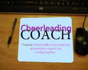 ... After Purchase Excellent Gift For Cheer Coach and Cheer Enthusiasts