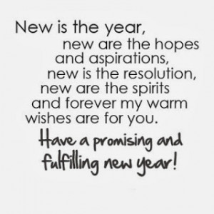 Happy New Years Quotes Moving