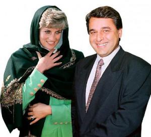Hasnat Khan Amante Lady...