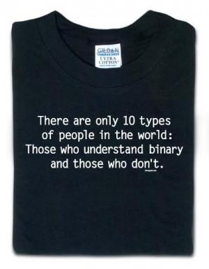 Binary People