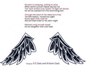 House of Night Series Raven Mocker's song
