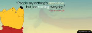 Click below to upload this Winnie The Pooh Quote Cover!