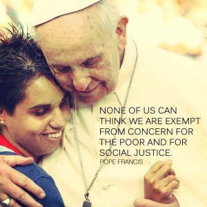 Pope Francis quote on social justice Pope Franciscus, Quotes Insta ...