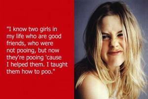 dumb celebrity quotes alicia silverstone